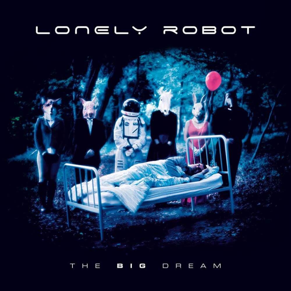 Lonely Robot Big Dream Cover