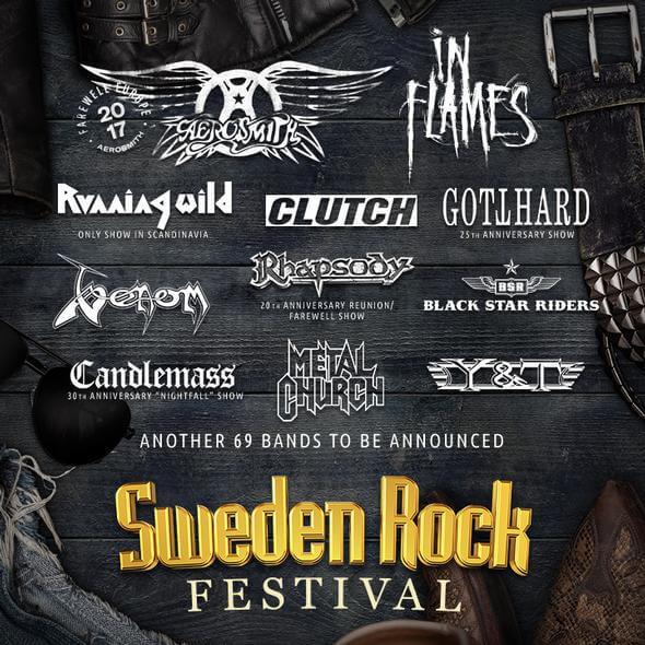 Sweden Rock Flyer
