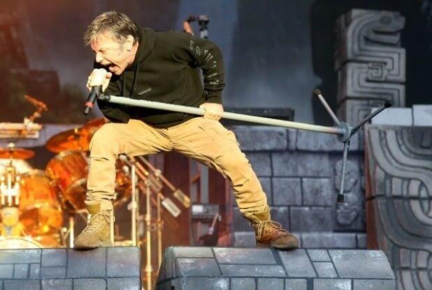Iron Maiden Live Bruce