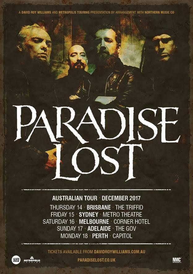PL Australian tour flyer