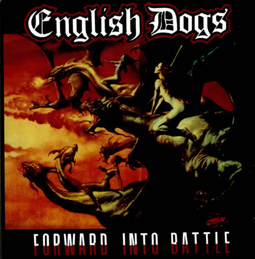 English Dogs Forward Into Battle