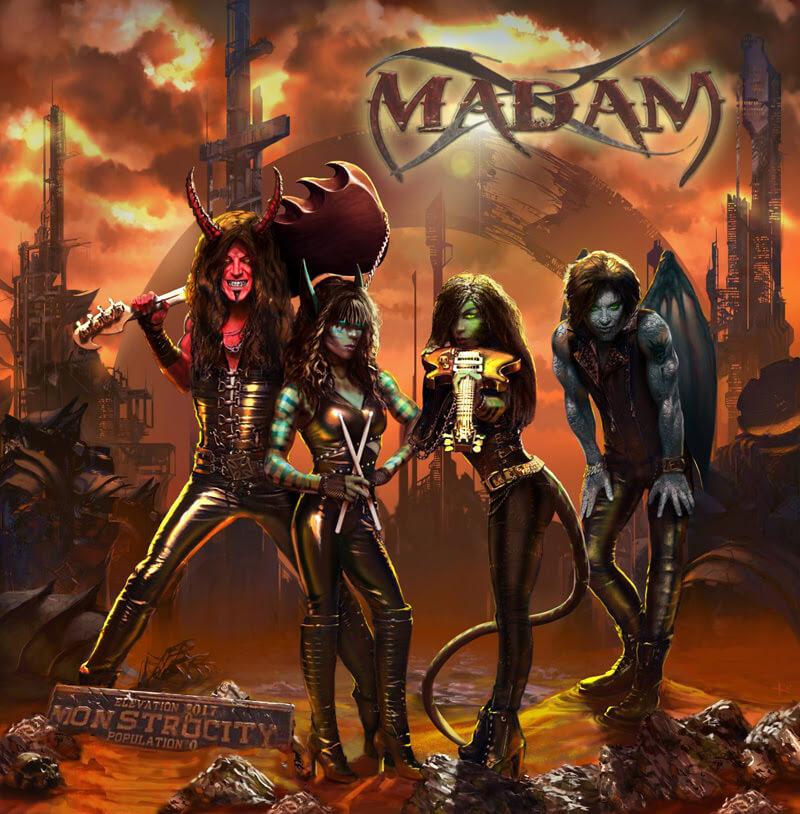Madam X Cover