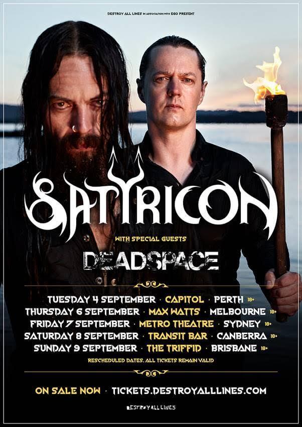 Satyricon Tour