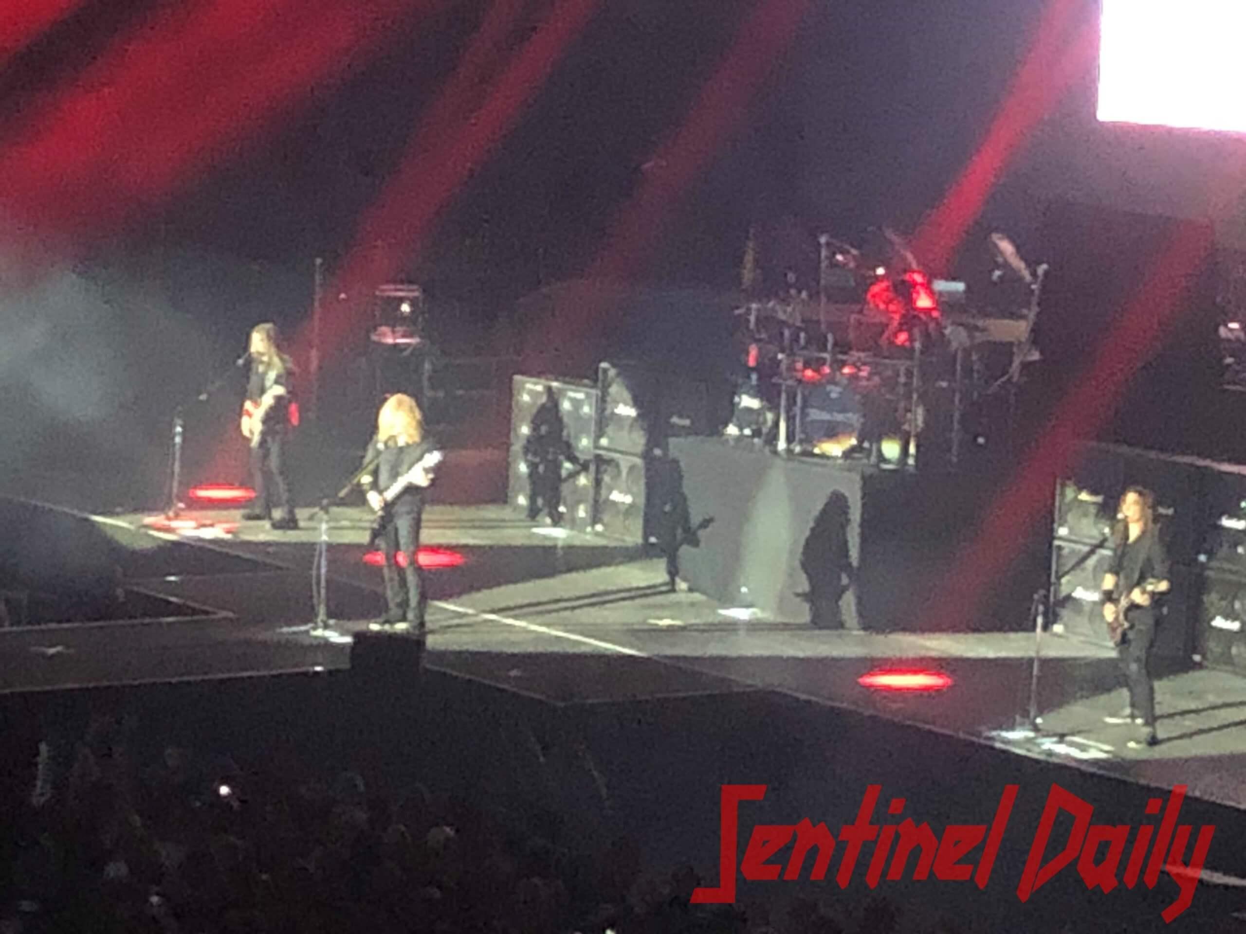 Scorpions Megadeth Buck Cherry