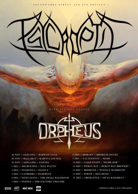 Psycroptic Tour