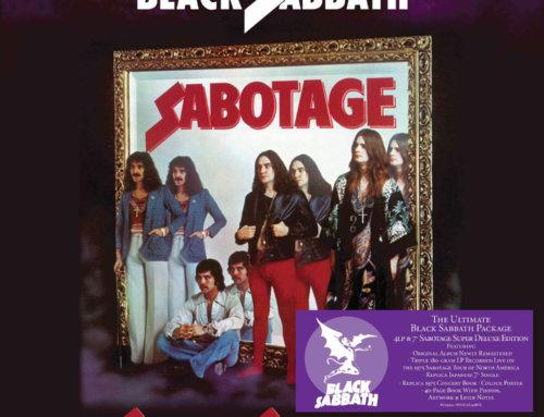 Black Sabbath: Sabotage Box set unboxed, copies to give away!